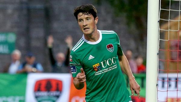 Sligo sign Cork City striker Ronan Coughlan