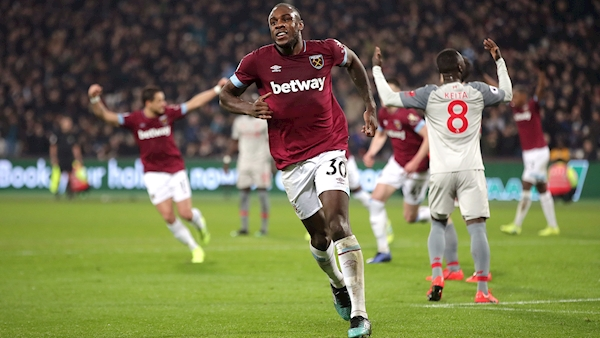 Hammers dent Reds title hopes