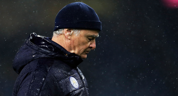 Ranieri sacked by Fulham after just over three months at Craven Cottage