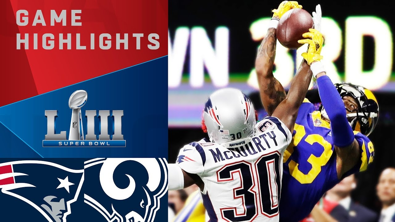 WATCH: Superbowl 53 – Highlights And Biggest Hits!