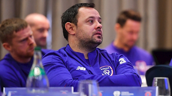 Andy Reid appointed as Ireland Under-18 manager