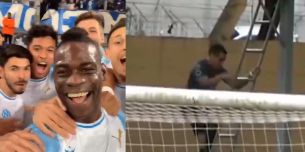 WATCH: Mario Balotelli's selfie celebration has been beaten