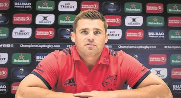 CJ Stander returns for Munster; Ross Byrne late withdrawal for Leinster
