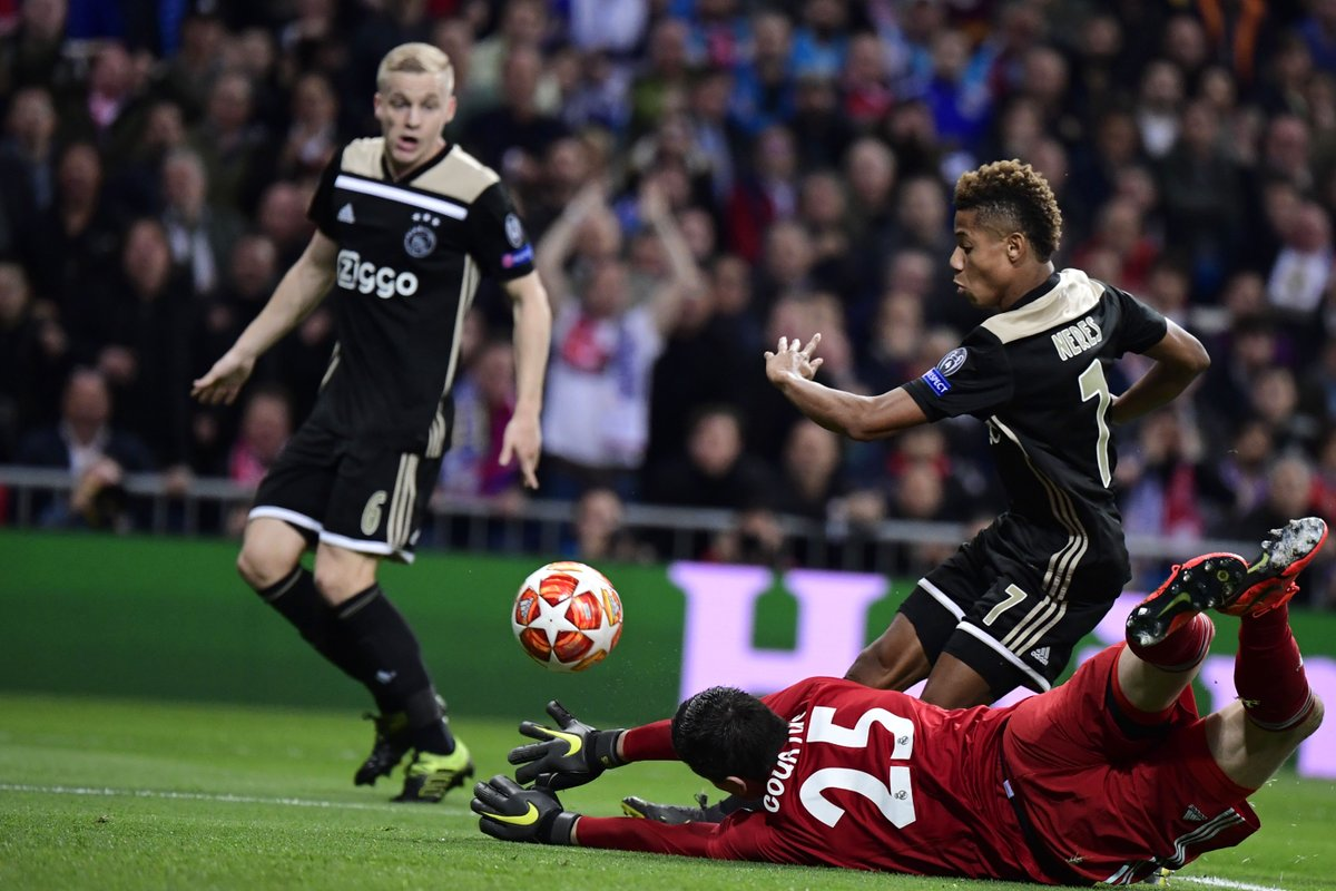 WATCH: All four of Ajax's stunning goals in a historic night in the Champions League