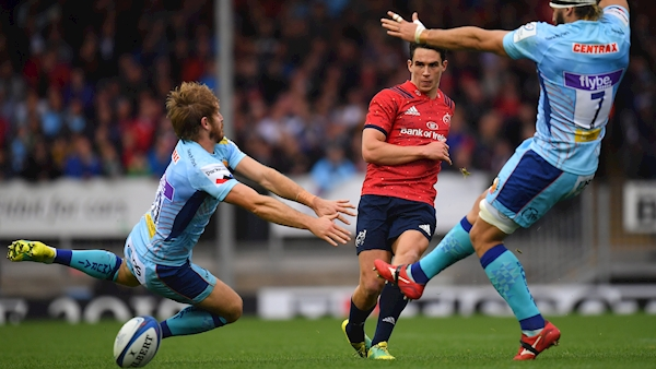 Joey Carbery extends Munster contract to 2022
