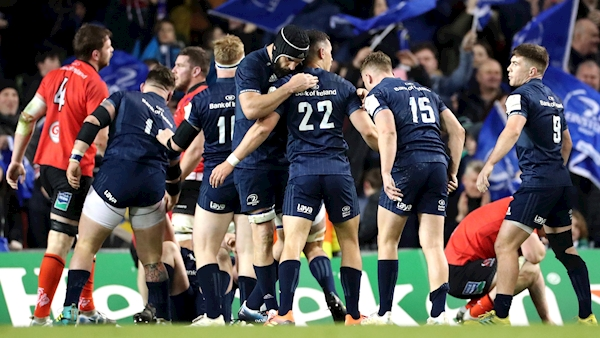 Leinster earn Champions Cup semi-final spot with thrilling hard-fought win over Ulster