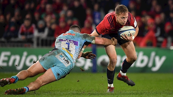 Late change for Munster ahead of Champions Cup clash as Haley  ruled out