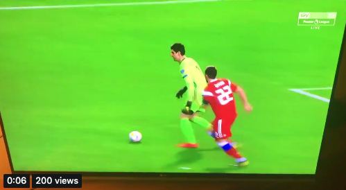 VIDEO: Courtois have done it again 😂😂😂