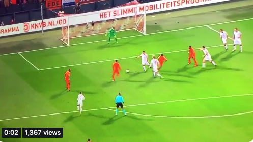 WATCH:  Gini Wijnaldum & Memphis Depay team-up Brilliantly for the Netherlands 2nd goal