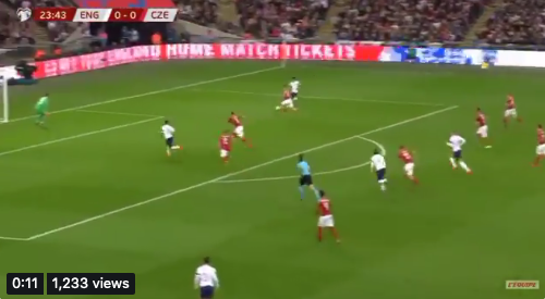 VIDEO: Kane ➡️Sancho ➡️Sterling ⚽