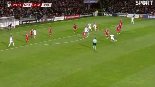 VIDEO: Beautiful 1-2 between Griezmann & Pogba. 👏
