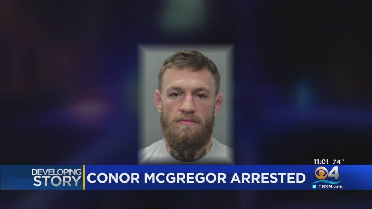 VIDEO: Conor McGregor Out Of Jail Following Arrest In Miami Beach For Incident With Fan's Phone