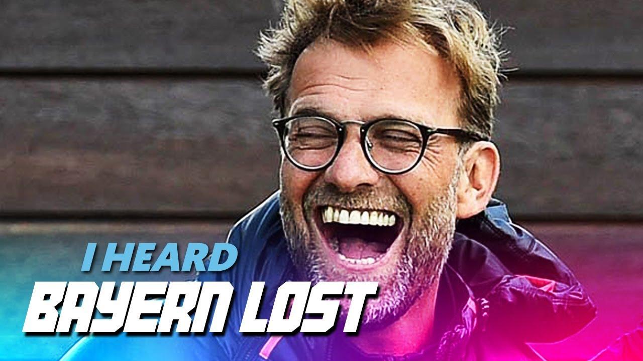 WATCH: The New Jurgen Klopp Song Mocking Bayern Is The Best Song You'll Hear All Season!
