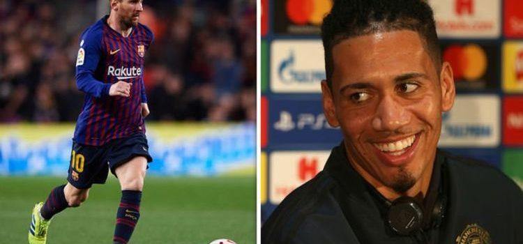 What Lionel Messi said to Chris Smalling after tough challenge left him bleeding