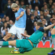 WATCH: Sergio Aguero smashes City into lead in epic Champions League clash