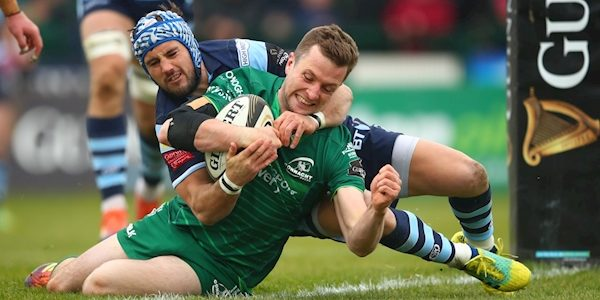 Defeat of Cardiff Blues gives Connacht a Champions Cup