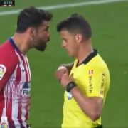"WATCH: Diego Costa Sent Off For Shouting ""I S**t On Your W***e Mother"" At Referee"