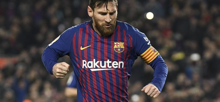 WATCH: Lionel Messi sends Fred back to the stoneage before slotting Barca into the lead