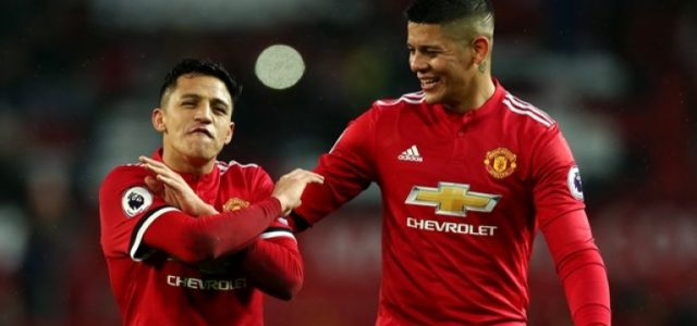Manchester United are preparing to pay millions to buy out the contracts of Alexis Sánchez and Marcos Rojo