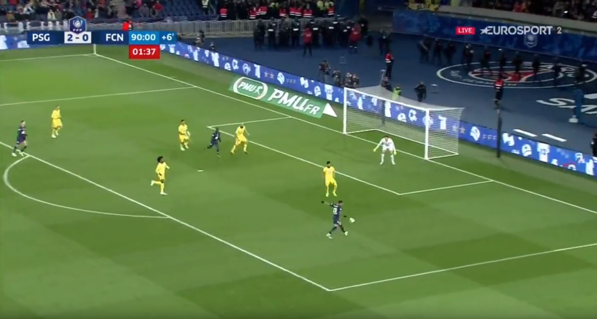 WATCH: Dani Alves Destroys Nantes Keeper With Outrageous Chip Goal!