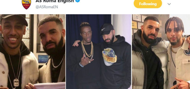 Roma's Twitter Admin Has Solved The Drake Curse Problem With One Tweet