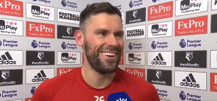 """WATCH: Foster Gives Brilliant And Brutally Honest Post Match Interview """"I Should've Cruyffed Him"""""""