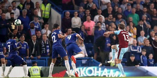 Irish star scores as Burnley battle for draw against Chelsea