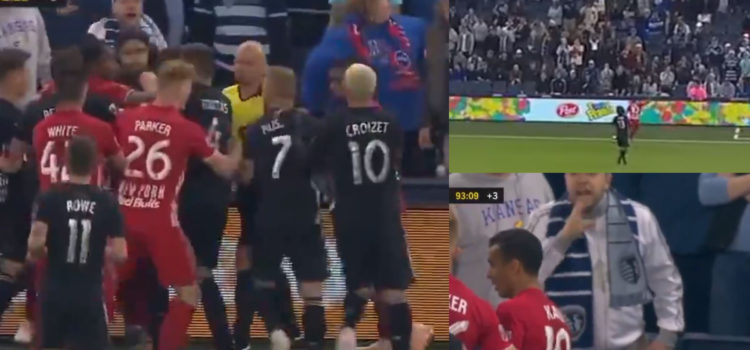 WATCH: MLS Winger Gets Red Card For Kicking The Ball Into An Opposing Fans Face