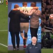 WATCH: Harry Kane Carried Down The Tunnel After Ankle Injury. HUGE BLOW For Spurs!