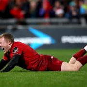 Keith Earls ruled out as Munster name team for Saracens clash