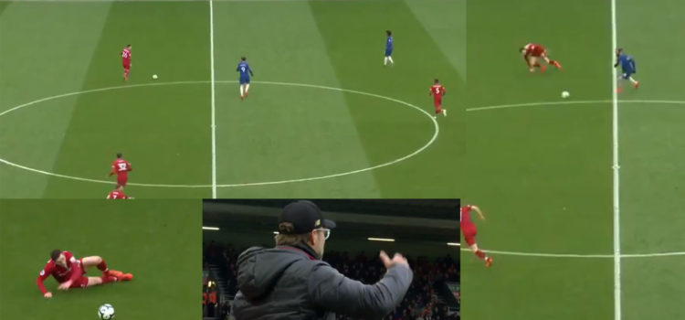 WATCH: Liverpool Fans Get Horrible Flashbacks As Robertson Slips In His Own Half And Gifts The Ball To Higuain