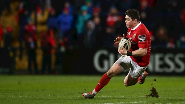Munster winger Ronan O'Mahony forced to retire from rugby