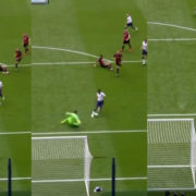 WATCH: Victor Wanyama Dribbles Around The Keeper To Score A Slick Goal
