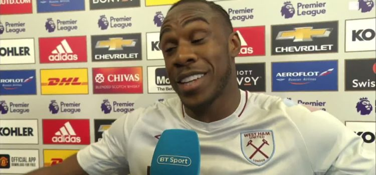👏 Absolutely top class interview from Michail Antonio after the game today