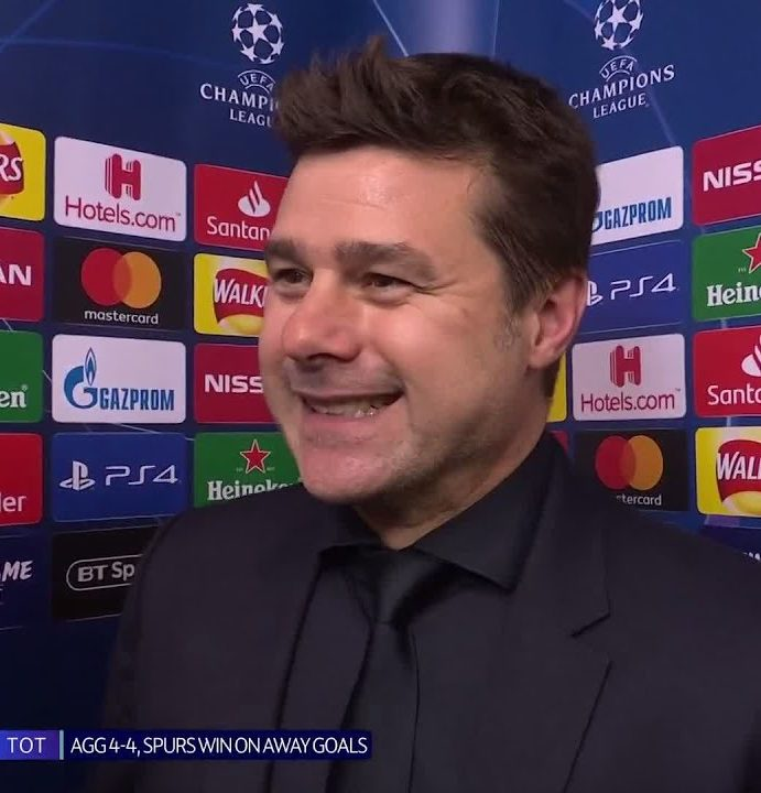 """I am so proud!"" Mauricio Pochettino reacts after an epic night in Spurs' history"