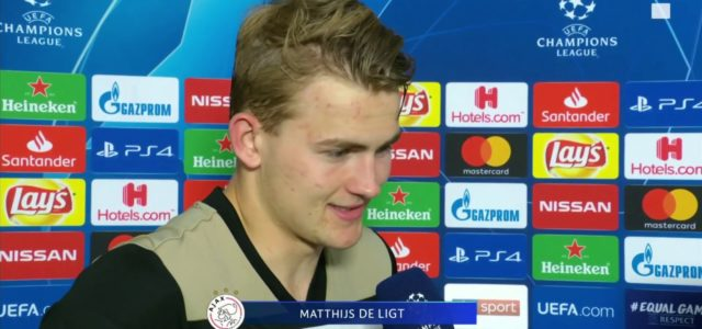 Matthijs de Ligt: We should have scored more! Ajax captain reacts to remarkable win