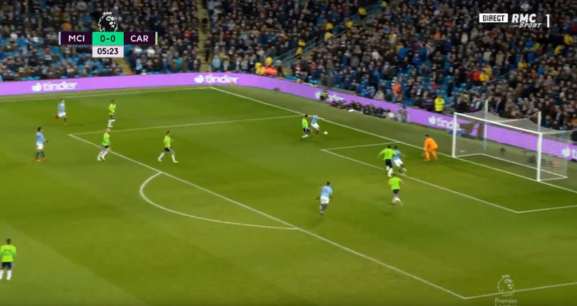 WATCH: De Bruyne Scores From A Ridiculous Angle