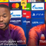 WATCH: Raheem Sterling Knows How He Plans On Beating Racists