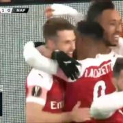 VIDEO: Aaron Ramsey wraps up sensational team goal for Arsenal