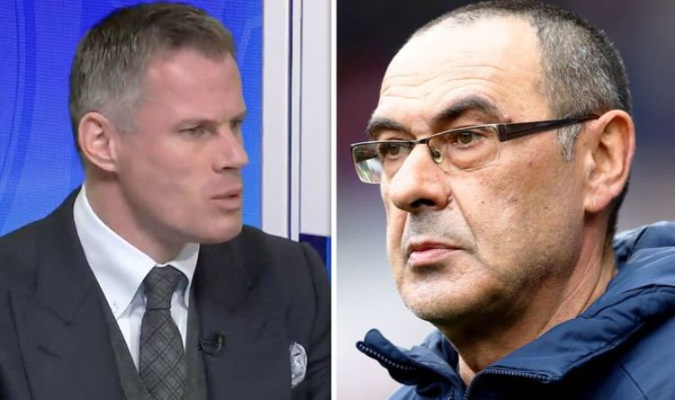 VIDEO: Jamie Carragher delivered the ultimate insult to Sarri's Chelsea live on TV v Man City