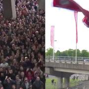 WATCH: Ajax fans give Frenkie de Jong unbelievable farewell – SCENES