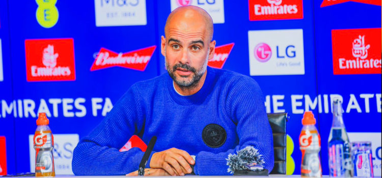 WATCH: Pep Guardiola corrects Sky Sports journalist in press conference and people love it