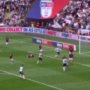 WATCH: Jack Marriott gives Derby lifeline with superbly taken goal under huge pressure