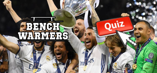 BenchWarmers obscure Champions League winners quiz