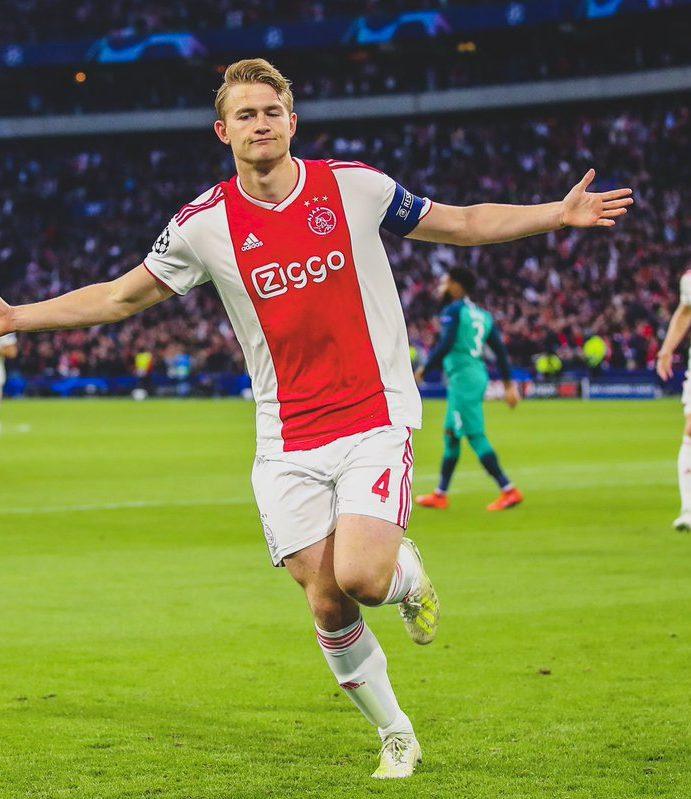 Matthijs De Ligt is on his way to 'European Giants' for around 75 million euros!