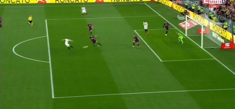 WATCH: Kevin Gameiro Scores Cracking Goal Against Barcelona