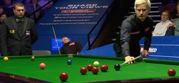 WATCH: John Higgins 'Falls Asleep' During Televised Snooker Match