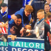 WATCH: Portsmouth Fans Punch And Kick Sunderland Player That Fell Into The Crowd