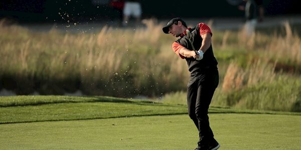 Rory McIlroy starts with double bogey and bogey on second day of US PGA