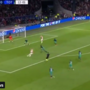 Hakim Ziyech just scored this banger of a goal. Unbelievable technique. Beautiful.